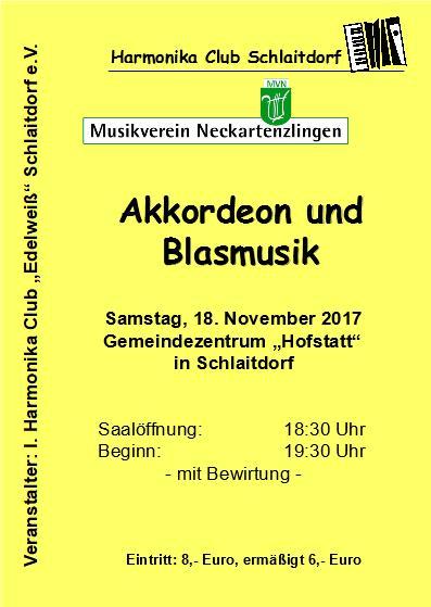 Flyer Konzert 2017
